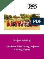 ICS Project Brief -Loitokitok JAN 2017