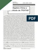1er Año.método de Horner