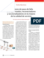Ie270 Beroiz Detectores de Paso de Falla Telesupervisados