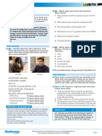 B2+ UNIT 9 Life skills video worksheet