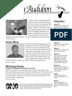 Jan 2007 Wichita Audubon Newsletter