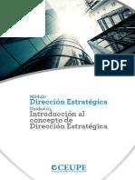 A1_Mod1_Unid1_Introducción Al Concepto de Dirección Estratégica