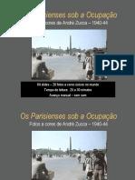 A ocupação alemã em Paris