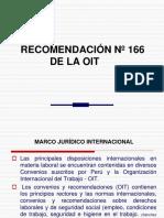 Recomendacion 166 OIT