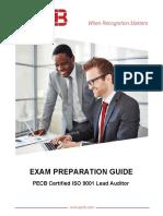 Pecb Iso 9001 Lead Auditorexam Preparation Guide