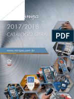Minipa - Catalogo Geral - 2017-2018