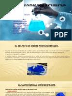 Obtención Del Sulfato de Cobre Pentahidratado