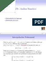 MAT270 L5 Interpolacion 1