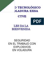 EXSA Manipuleo Explosivos Ppt