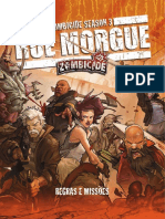 Jogo de Tabuleiro Zombicide Season 3 Rue Morgue Regras