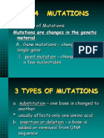 Type of Mutation
