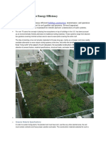 Green Rooftops for Energy Efficiency