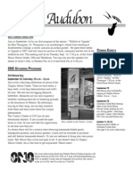 September 2008 Wichita Audubon Newsletter