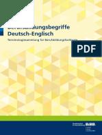 'Berufsbildungsbegriffe Deutsch-Englisch' NA BiBB 2016