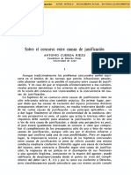 Sobre El Concurso Entre Causas de Justificación Antonio CUERDA RIEZU
