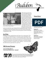 July 2009 Wichita Audubon Newsletter