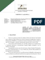 Parecer Dr. Silvestre - Termo de Cessão de Uso - Processo n. 26188830