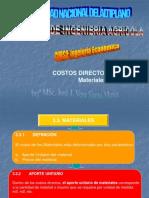 3. C. D. Materiales