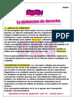 01 - Resumen Bolilla 1 - Introduccion Al Derecho - Nino