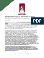 Mastering Deliveryrecommendations