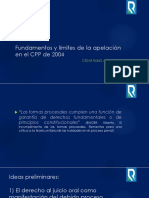 La Apelación en El Sistema Acusatorio Del CPP en el PERÚ