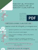 Aproximación Al Proceso Metodológico de La Investigación Cualitativa