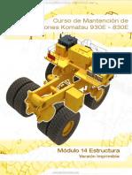 Manual Estructuras Camiones Mineros 830e 930e Komatsu Componentes Chasis Mantenimiento Seguridad