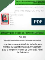 Técnico de Operação Júnior PETROBRAS Questão 3 Resolvida da Prova 40 PETROBRAS Março/2010</div></div><div class=