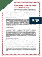 La Explotación Del Guano y Su Repercusión en La Economía Del Perú