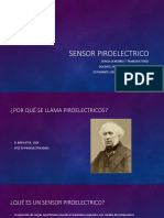 Sensor Piroelectrico