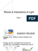 master ppt for light and  waves