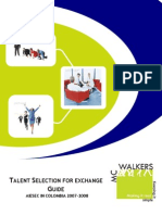 AIESEC in Colombia - Talent Selection Guide for Exchange