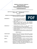 8.1.2.1 SK Permintaan Pemeriksaan, Penerimaan Spesimen, Pengambilan dan Penyimpanan Spesimen.docx
