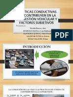 Practicas Conductivas Que Contribuyen en La