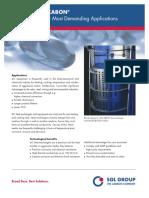 Sgl Pt Data Sheet Sic Heat Exchangers