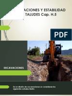 Excavaciones y Taludes