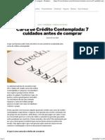 Carta de Crédito Contemplada_ 7 Cuidados Antes de Comprar - Konkero