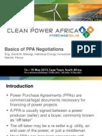 Ppa Negotiation