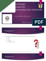 Demencia y Enfermedad de Alzheimer