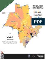 Mapa Pedologico Solos Estado de Sao Paulo