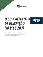 o Guia Definitivo de Inscricao No Sisu 2017