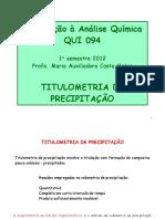 Aula 6 Titulometria de Precipitação QUI094 2012.1