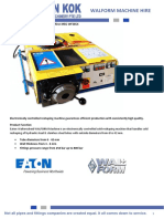 Eaton Walform Machine Hire v2