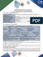 Guía Para El Desarrollo Del Componente Práctico (100413) - Laboratorio Presencial