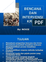 Penanggulangan Bencana Dan Intervensi Krisis