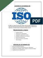 Aplicacion de Las Normas ISO