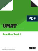 Acer - Umat Practice Test 1