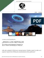 Eran Los Nephilim Extraterrestres