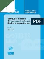 Distribución Funcional Del Ingreso en América Latina