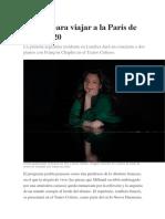 Música Para Viajar a La París de Los Años 20